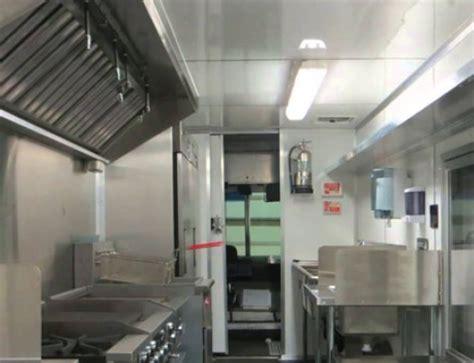 food truck kitchen design mobile kitchen and food truck design basics