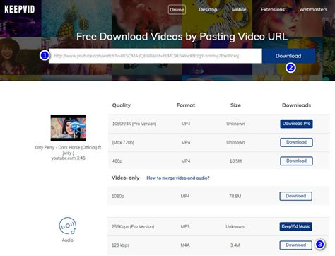 download mp3 from youtube keepvid 2018 best ways to download music from youtube for free