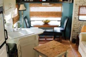 rv makeover ideas cer decorating ideas laura s 5th wheel makeover