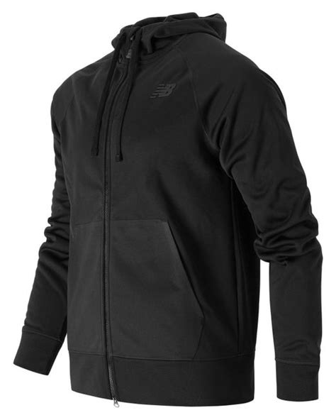 Hoodie Zipper New Balance Jaket Sweater Keren new balance classic zip hoodie in black for