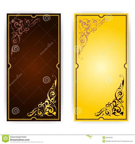 fancy birthday card templates template for greeting card invitation stock