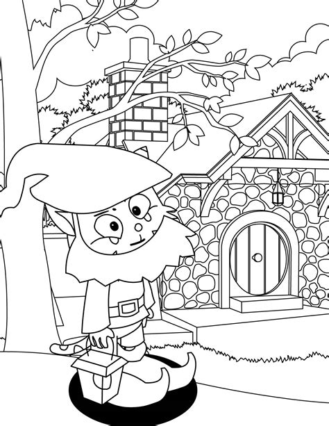 coloring page garden gnome gnome coloring pages jacb me
