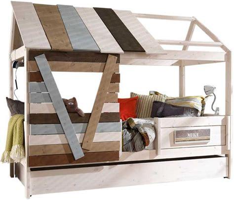 lifetime boomhut bol lifetime boomhut bed white wash 102x207cm