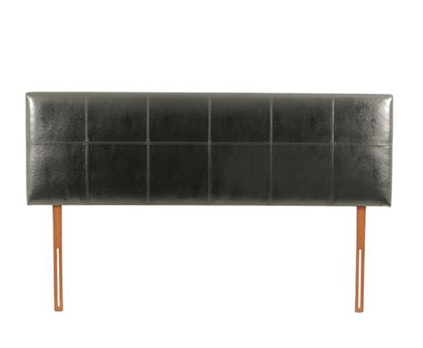 leather headboards uk emilio blackfaux leather headboard