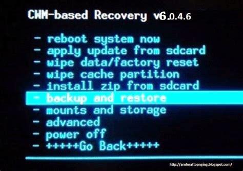 Samsung Tab 3 Matot cara backup dan restore rom menggunakan cwm arul mattoanging