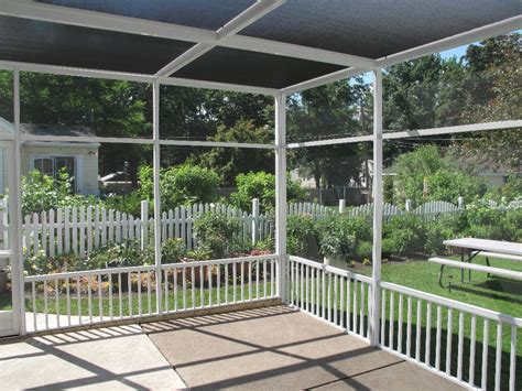 screen porch roof roof enclosures expanding their living space but don