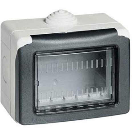 Junction Box Plexo Weatherproof 155x155x74 Legrand buy legrand 680613 3 module grey plexo box at best price in india
