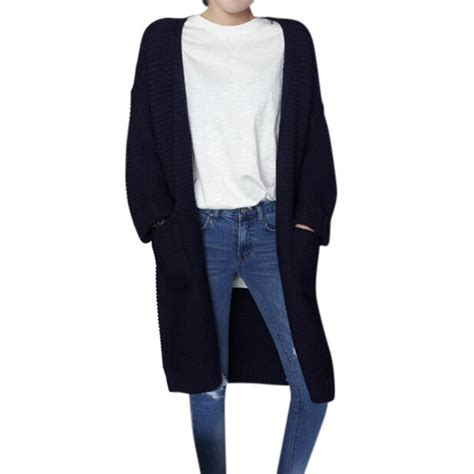 thick knit cardigan winter warm sleeve cardigan thick knit