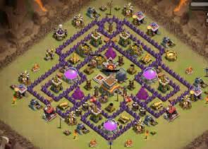 Clash of clans war base th 8 1337 wiki