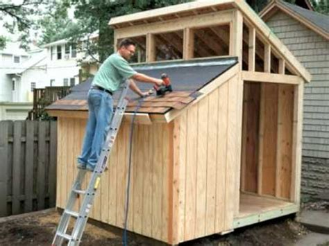 building  clerestory shed video home plans