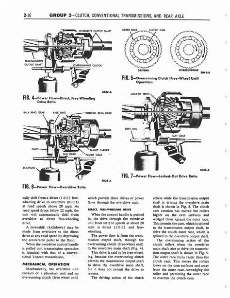 transmission control 2002 ford thunderbird auto manual 1958 ford thunderbird shop manual page 102 of 360