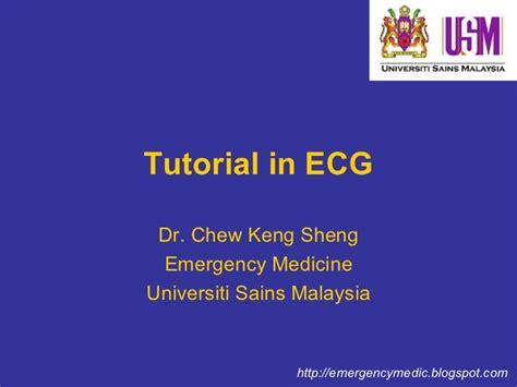 Ecg Tutorial Powerpoint | tutorial in basic ecg for medical students