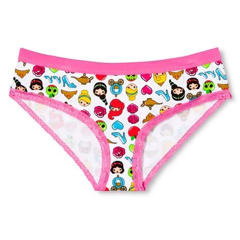 emoji underwear disney women s princess emoji briefs pink target