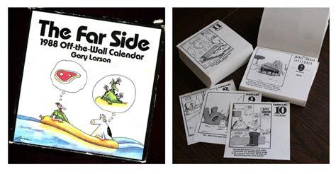 Far Side Desk Calendar by Gary Larson S The Far Side Tear Desk Calendar Nostalgia