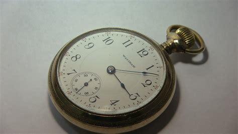 waltham 18 size 17 pocket pocket watches