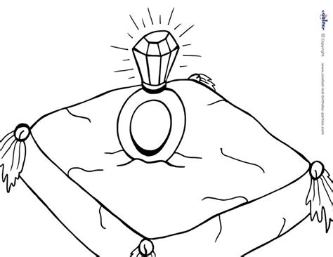 Free a ring coloring pages