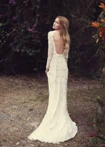boho wedding dresses bohemian wedding dresses for stylish brides modwedding