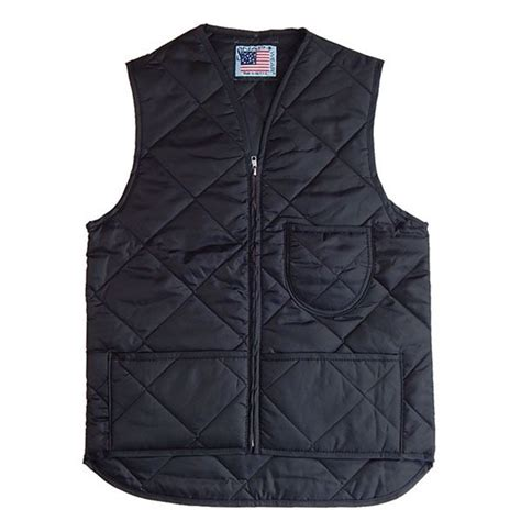 Quilted Vest by Quilted Vest With Kidney Flap