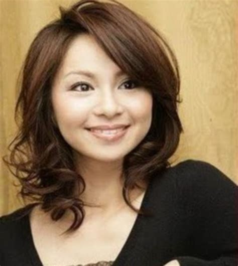 hairstyles for medium length hair with round face medium haircuts round faces