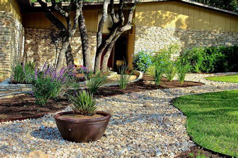 Rock Wall Garden Ideas Bloombety Rocks Landscaping Ideas With Wall Landscaping With Rocks Ideas