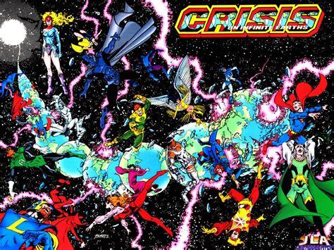dc comics crisis on infinite earths dc comics wallpaper 251197 fanpop
