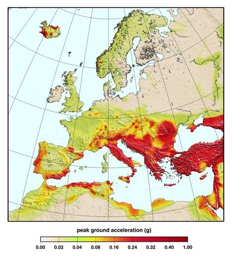 earthquake europe earthquakes fsu emergency management
