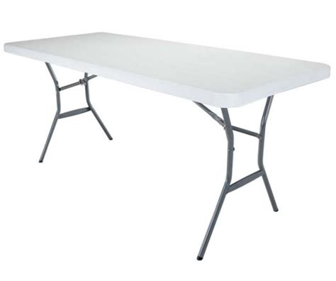 Lifetime 6 Folding Table by Lifetime Products 5011 Durastyle White Granite 6 Ft Fold