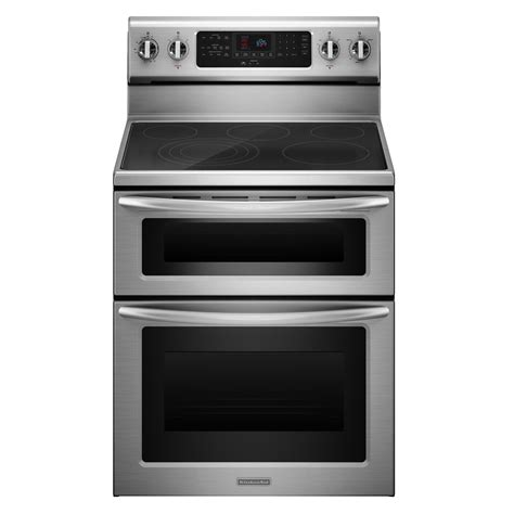 Kitchenaid Appliances Registration Kitchenaid Kers505xss 6 6 Cu Ft Oven Electric