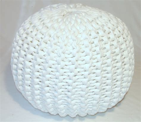 knitted poufs ottomans 18 knit pouf patterns guide patterns