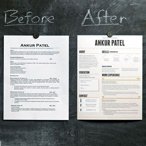 creative cv exles pinterest 17 best images about creative resume exles on pinterest