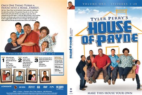 tyler perry s house of payne tyler perry s house of payne volume 1 tv dvd scanned covers tyler perry s house of