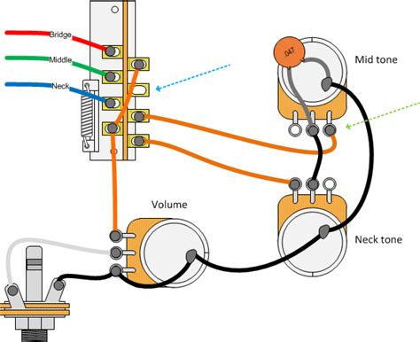 capacitor guitar wiring 3 wire capacitor wiring diagram get free image about