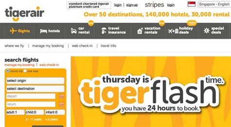 Tiger Airways Promotion 2017 The Best Tiger Of 2018