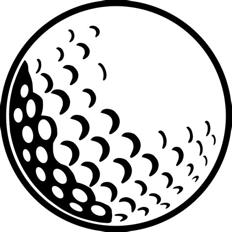 golf clipart black and white golf clipart black and white pencil and in color