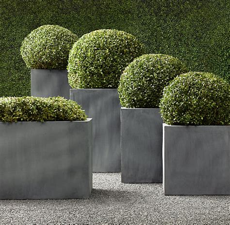 planters outstanding large square planter large plant