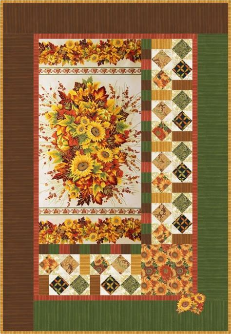 Seasonal Quilted Wall Hangings by Seasonal Bouquet Wall Hanging And Tablerunner Free