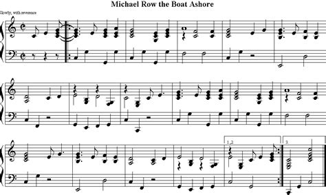 is michael row the boat ashore a christian song meine hymns 20 000 volkslieder german and other folk