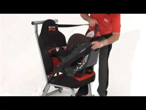 si鑒e auto britax class class plus installing the seat rearward facing