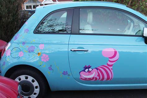 Auto Decals Uk nana flower car sticker hippy motors car stickers vinyl