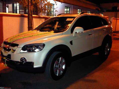 Fortuner Time F010 Black Leather List White totally captiva ted my chevrolet captiva team bhp