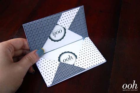 Origami Card Holder - diy tutorial origami namecard holder 187 operation overhaul