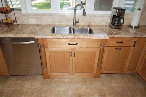 metro cabinets granite ginger glaze granite traditional kitchen other