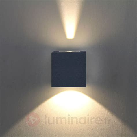 applique d ext 233 rieur led jarno coloris graphite 9616007