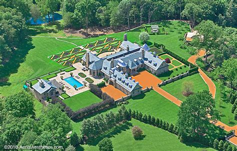 Square Home Floor Plans by Updated Bird S Eye Views Of 3 Connecticut Mega Mansions