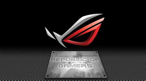asus rog republic  gamers wallpaper  www