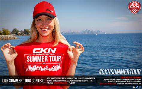 contest 2014 canada contest 2014 ckn summer tour t shirt showcase ckn