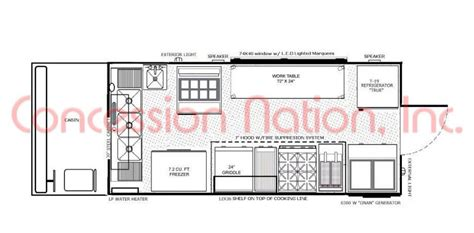 food truck design center floorplans food trucks fast food truck mobile kitchens