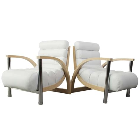 white leather club chair pair white leather spectre quot eclipse quot leather club chairs at 1stdibs