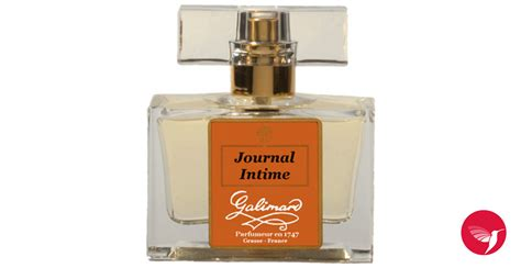 journal intime galimard parfum un parfum pour femme