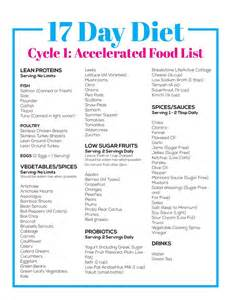 17 day diet cycle 1 accelerated food list flexitarian beyond diet pinterest cycling food